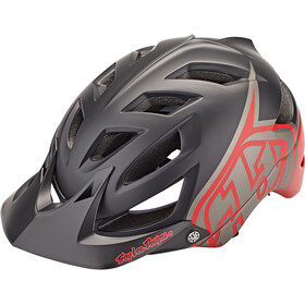 Troy Lee Designs A1 MIPS Kask, black/red